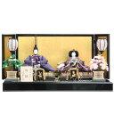 雛人形 親王平飾り 正絹有職 hn169 9hs1028 幅69cm 望月龍翠 伝統工芸品 (193to1028) 雛祭り