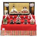 雛人形 五人三段飾り おぼこ雛 hn42-50 9hs1675 幅69cm 小出松寿 市川伯英 頭 (193to1680) 雛祭り