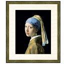世界の名画 ヨハネス・フェルメール 真珠の耳飾りの少女 F8 [g4-bm001-F8] インテリア