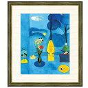 世界の名画 アンリ・マティス 青い窓 F8 [g4-bm200-F8] インテリア