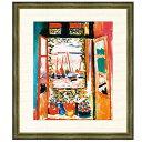 世界の名画 アンリ・マティス コリウールの窓 F8 [g4-bm201-F8] インテリア