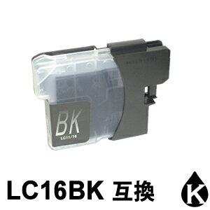 ★1本1円!!★ LC16BK ブラック 1本 互換インクカートリッジ