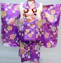 ショッピングキッズ アウター 七五三 3才 3歳 三才 三歳 女児 女の子 被布着物祝着フルセット 日本製 合繊 新品(株)安田屋u212942320