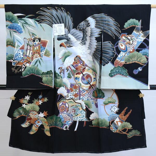 お宮参り産着 男児 男の子 正絹 のしめ 着物 ...の商品画像
