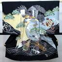 お宮参り産着 のしめ 祝着 着物 一つ身 男の子 男児 正絹 羽二重 新品(株)安田屋 o155499366