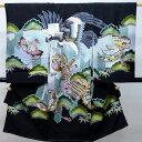 お宮参り産着 男児 男の子 正絹 のしめ 着物 祝着 初着 一つ身 高級 本格手描き 羽二重 新品(株)安田屋 n185181905