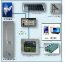 WG504・ハイブリッドセット :太陽電池-ソーラーパネル・風力発電機利用