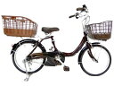 【中古】 BRIDGESTONE ブリジストン アシスタユニプレミア A2UP26 20インチ リアバスケット 電動 自転車 楽直 Y2735182