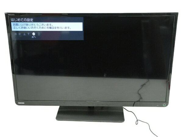 【中古】 TOSHIBA 東芝 REGZA 32S10 液晶テレビ 32V型 ブラック 【大型】 N3903824