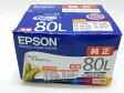 未使用【中古】EPSON 純正 インク IC6CL80L 6色 パック S1920579