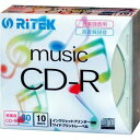 �����륢������ѥ� RiTEK ����Ͽ����CD-R 5mm����ॱ����10���� CD-RMU80.10P C CDRMU8010PC��Ǽ���ܰ¡�3���֡�
