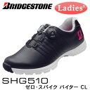ブリヂストン ゼロ・スパイク バイダー CL レディース シューズ 【BK/黒】 SHG510