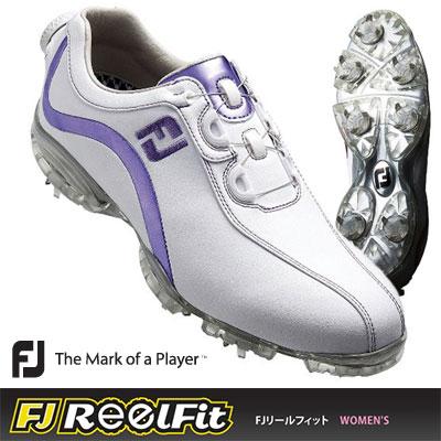 FOOTJOY[フットジョイ] FJ ブリヂストン REELFIT パター レディース ゴルフ ドライバー シューズ 93825:ヤトゴルフ 店 FJリールフィットはBoaクロージャーシステムを搭載した快適シューズ!