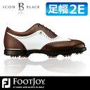 FOOTJOY [フットジョイ] ICON Black [アイコン ブラック] ゴルフ シューズ 52011