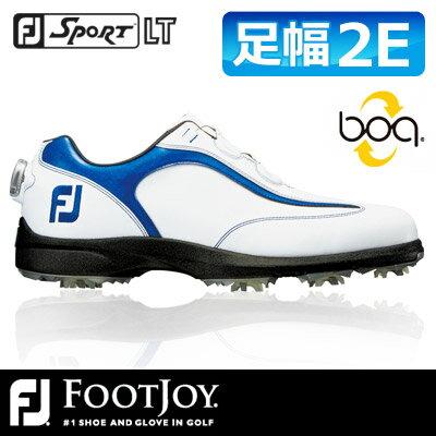 FOOTJOY [フットジョイ] SPORT LT Boa [スポーツ LT ボア] メンズ ゴルフシューズ 53232 ホワイト/ネイビー 2016年!10月発売モデル!