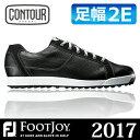 FOOTJOY [フットジョイ] CONTOUR CASUAL [コンツアー カジュアル] メンズ ゴルフシューズ 54047 ブラック