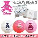 WILSON [ウィルソン] BEAR 3 [ベア] レディ...