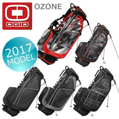 OGIO [オジオ] OZONE スタンド キャディバッグ 125053J7 2017年モデル!多機能ミットレベルスタンドバッグ!