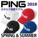PING [ピン] COTTON UNSTRUCTURE 6P CAP [コットン アンストラクチャー 6パネル キャップ] 32812