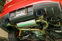 HKSスーパーターボマフラーミツビシランサーエボリューション10CZ4A用(31029-AM004)【JQR認定品】
