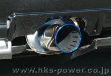 HKS Super Turbo MUFFLER ニッサン スカイライン GT-R BCNR33用 (31029-AN002)【JASMA認定品】【マフラー】