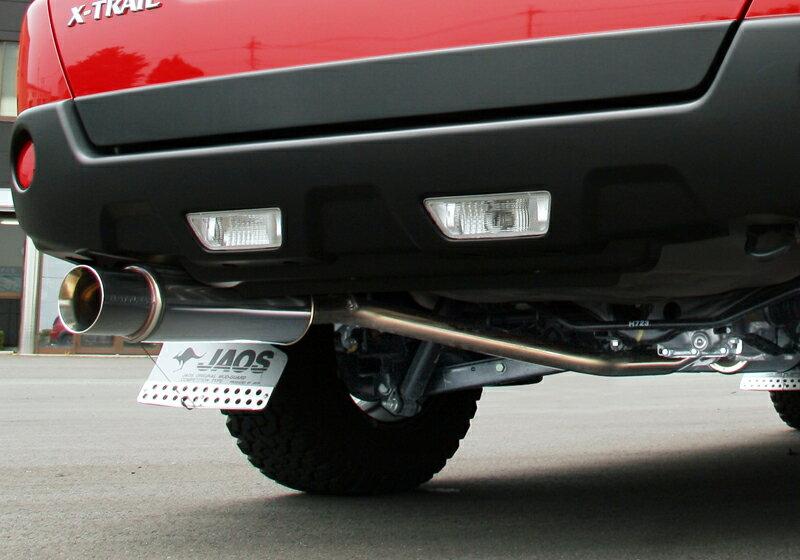 JAOS BATTLEZ EX type ZS ジャオス バトルズ マフラー エクストレイル 31系ガソリン車用(B702442)【新規制対応】