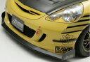 J's RACING フロントウィングスポイラー タイプS カーボン/FRP ホンダ フィット GD1/GD2/GD3/GD4用 (品番:AH-F1-C)【エアロ】ジェイズレーシング Front Wing Spoiler