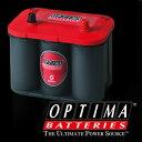 【送料無料】OPTIMA Red top バッテリー 100D23L