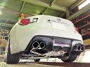 スルガスピード PFSループサウンドマフラー トヨタ 86 MC後 TRDバンパー車 ZN6用 (SRT-510)【マフラー】SURUGA SPEED PFS LOOP SOUND MUFFLER