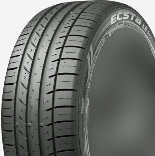 KUMHO ECSTA LE Sport KU39 255/40R19 【255/40-19】 【新品Tire】クムホ タイヤ エクスタ 【1本から送料無料】【サマータイヤ】クムホエクスタユニーク