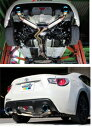 TRUST GReddy COMFORT SPORT GTスラッシュマフラー トヨタ 86 ZN6用 バージョン2(10110732)【マフラー】