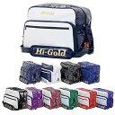 【ネーム刺繍サービス 送料無料】ハイゴールド エナメルショルダーバッグ レギュラーサイズ(HB-9000)