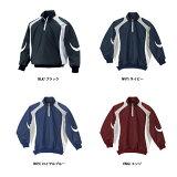 【左片胸ネーム刺繍サービス?】デサント 長袖プルオーバーコート(STD428)