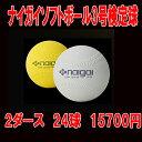 お買い得!!ナイガイソフトボール3号検定球2ダース(24球セット)