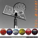 ミニバスから一般まで対応 選べる付属ボール SWG-305ST レイアップの練習にも ポールパッドも標準装備 バスケットゴール 屋外 家庭用 バスケットボール ゴール 7号 5号 リング