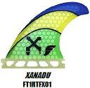 """""""フューチャーフィンシステム (FUTURE FINS) XANADU ザナドゥ 3本セット""""/サーフ サーフィン サーファー SURFIN SURF SURFER 便利/フィン FIN"""