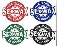 """""""セックスワックス (SEX WAX) オンボードステッカー One Board Stickers 直径6cm サーフィンワックス""""《郵送82円可能》/サーフ サーフィン サーファー SURFIN SURF SURFER 便利"""