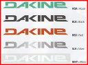 """""""ダカイン(DA KINE)カッティングステッカー MEDIUM LOGO STICKER""""《郵便120円可能--代引き決済不可》DAKINEでボードも車もチューンアッ.."""