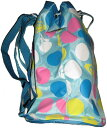 【可愛い水玉模様でお子様も大喜び!!】ロキシーROXY子供用プールバッグ