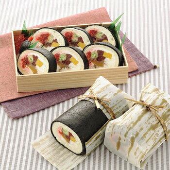 お寿司みたいなロールケーキセット洋菓子ケーキスイーツキャラクタースイーツそっくりスイーツ贈り物ギフト