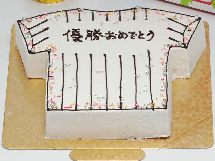 洋菓子/シフォンケーキ/プレーン野球狂の菓子(うた)野球好きな友達とバースデーケーキ