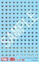 フレームアームズ・ガール 瞳デカールセット01[轟雷用]〔ホビージャパン〕(180320予約開始)