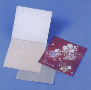 あぶらとり紙 鈴 10枚入(茶紙) 02P03Dec16