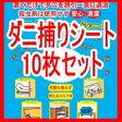 日本製 ダニよせゲットシート 10枚 レギュラーサイズ(約12×17cm) ゆうメール送料無料 ダニ捕りマット 通販 ダニ取りシート(ダニ捕りシート)ダニ退治/ダニシートP06May16