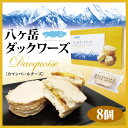 八ヶ岳ダックワーズ 8個入り お土産 みやげ カマンベールチーズ 洋菓子