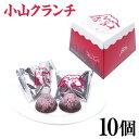 【富士山 お土産】赤富士 小山クランチ 10個 赤富士をイメ...
