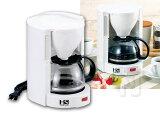 ホワイトカラーのシンプルデザイン SCM-05コーヒーメーカー 5カップ