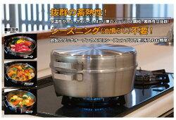 燻製器「3段式アウトドアスモーカー」ST-123ステンレス製スモーカーご家庭のガスコンロで燻製ができる!スモークチーズからベーコン・吊り下げてスモークサーモンも余裕です!