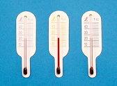 【smtb-TK】【頑張って送料無料!】ネコポスのため代引き・日時指定不可シンワ 地温計O-3 ミニ3個セット 赤・橙・紫/黒・青・緑 72623-72633