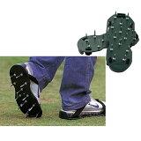 【】芝生を元気に!靴に簡単装着 ガーデンスパイク歩いて芝生に穴を開けることにより通気性が良くなり成長を促します